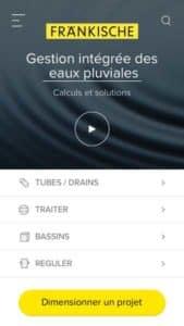 application mobile frankische à cycl'eau bordeaux