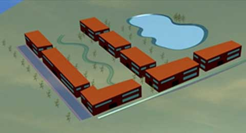 Hyétos - gestion des eaux pluviales
