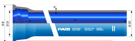 Solution NatuRal DUCTAN® - Revêtement intérieur protection maximale contre l'agressivité des eaux