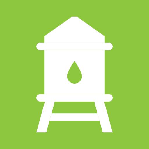décanteur eaux de pluie avant rejet en milieu naturel