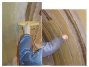 Hobas-Installation Bande-Chantier