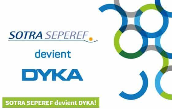 Sotra Seperef change de nom et devient DYKA France