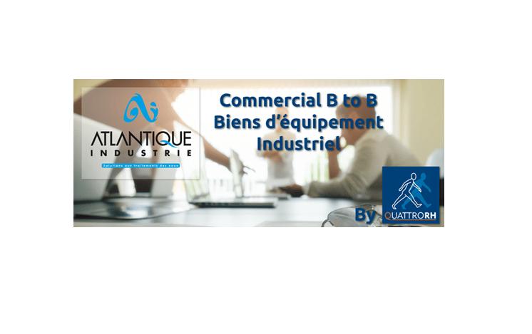 Quattro RH recrute pour Atlantique Industrie (44) un(e) commercial(e) B to B