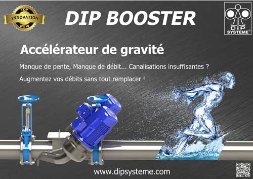 Le circulateur Dip Booster de Side Industrie