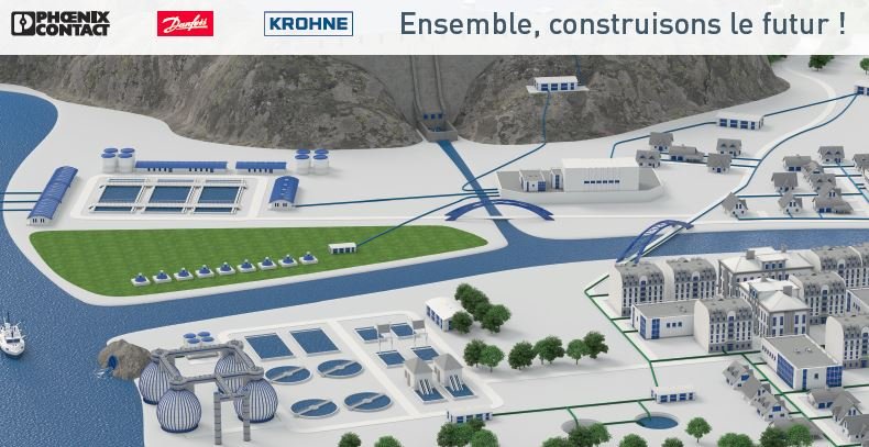 Collaboration Pollutec 2018 KROHNE, PHOENIX CONTACT et DANFOSS