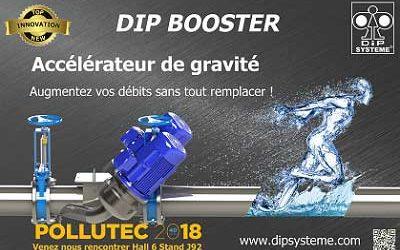 SIDE INDUSTRIE présente le Dip Booster son innovation 2018 à Pollutec