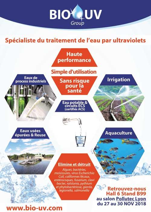 traitement de l'eau par ultraviolets