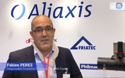 Pollutec 2018 – Les enjeux du secteur de l'Eau Potable, vus par ALIAXIS