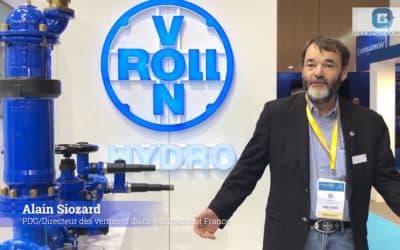 Pollutec 2018 – Les enjeux du secteur de l'Eau Potable, vus par vonRoll hydro