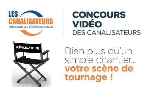 Les Canalisateurs lancent un jeu concours vidéo