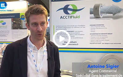 #CGLE20 – Notre interview Antoine Sigier (ACCTIFluid)