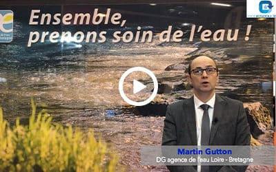 #CGLE20 – Notre interview de Martin Gutton (Agence de l'eau Loire – Bretagne)