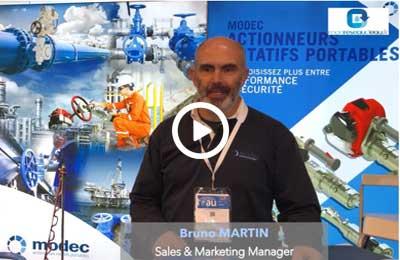 #CGLE20 – Notre interview de Bruno MARTIN (Modec)