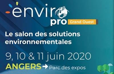 ENVIROPRO Grand Ouest 2020 : un nouveau salon (en partie) dédié au monde de l'eau