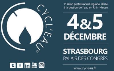 Cycl'Eau à Strasbourg pour contribuer aux réflexions et discussions sur l'adaptation au changement climatique