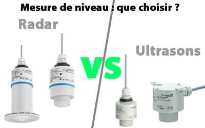 Mesure du niveau d'eau sans contact : que choisir entre la technologie radar et la technologie ultrason ?