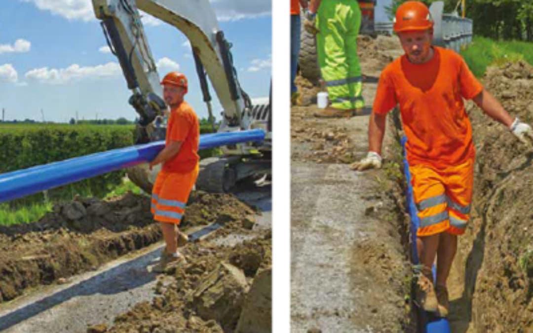 Du DN90 au DN630, une gamme de canalisation innovante en PVC-A