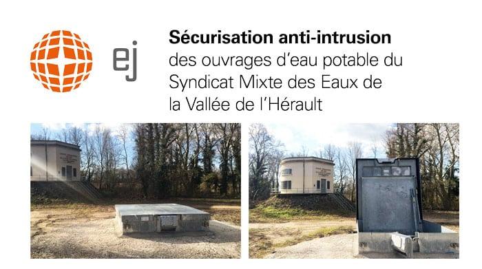 Comment le Syndicat Mixte des Eaux de la Vallée de l'Hérault a-t-il sécurisé ses puits de captage ?