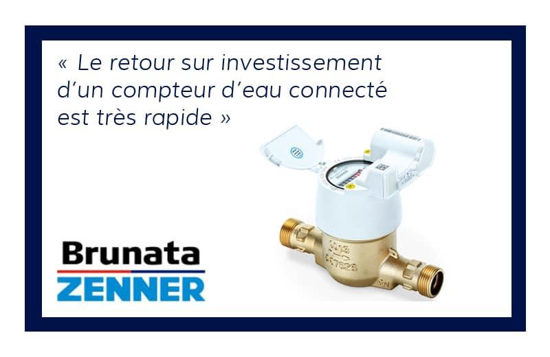 Pourquoi les compteurs d'eau connectés accélèrent le retour sur investissement ?