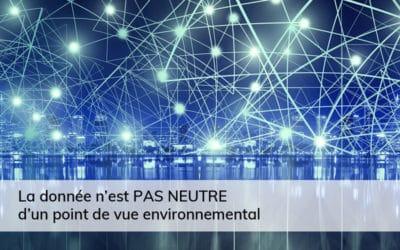 La donnée face aux défis techniques et environnementaux