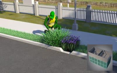 RigoPlant : Module d'aménagement végétalisé pour la dépollution des eaux de pluie